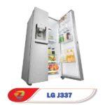 طراحی یخچال ساید بای ساید ال جی J337