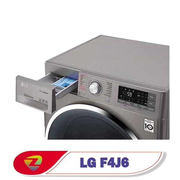 ماشین لباسشویی ال جی J6 ظرفیت 8 کیلو F4J6