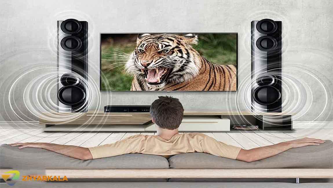 قدرت صدای بلندگوهای سینما خانگی الجی LHD677