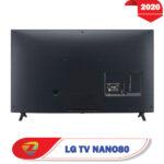 پشت تلویزیون ال جی 49NANO80