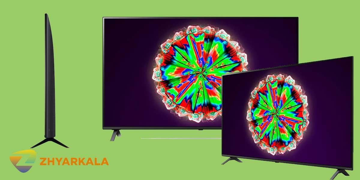 طراحی تلویزیون ال جی NANO80