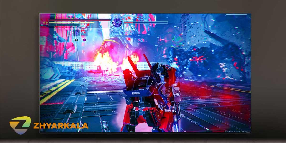 بازی در تلویزیون ال جی 55NANO80