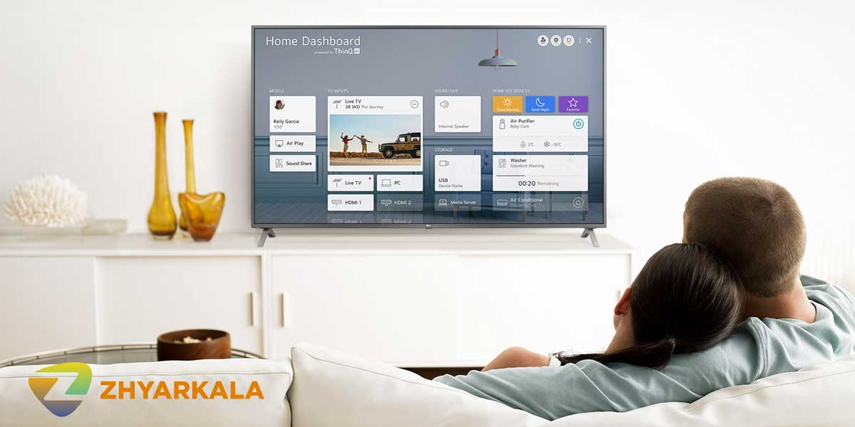 قابلیت هوشمند تلویزیون ال جی NANO80