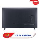 پشت تلویزیون ال جی 75NANO90