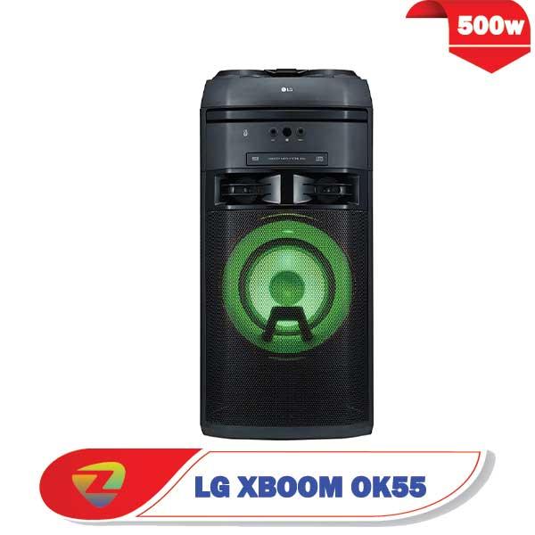 سیستم صوتی ال جی OK55 توان 500 وات XBOOM OK55