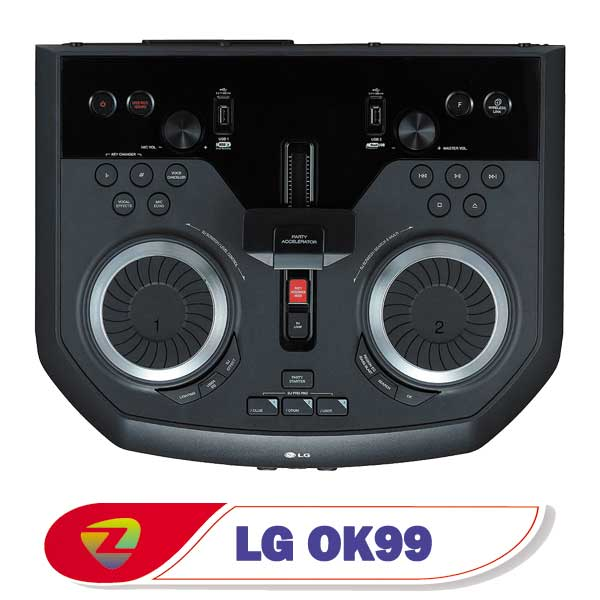 سیستم صوتی ال جی OK99 ایکس بوم OK99 توان 900 وات
