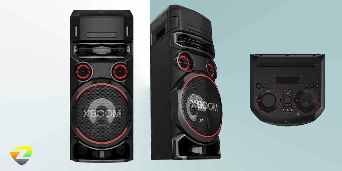 طراحی سیستم صوتی ال جی ON7