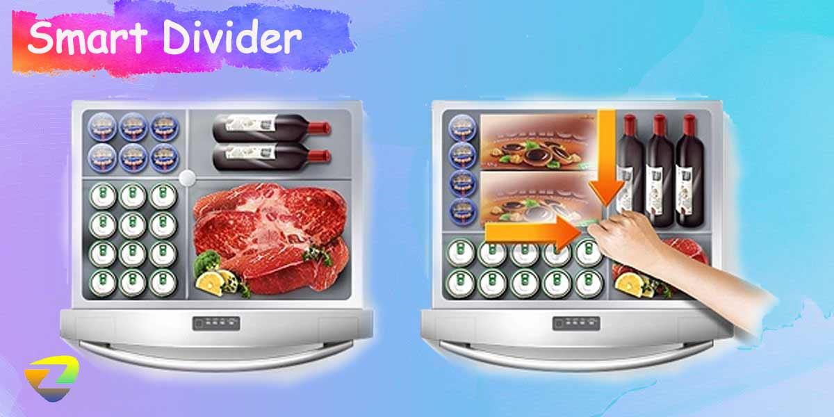 مواد غذایی را بر اساس سلیقه در دمای مناسب ذخیره کنید!