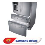 طراحی بی نظیر یخچال ساید بای ساید سامسونگ RF28