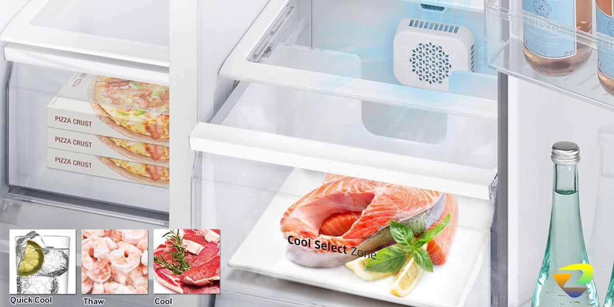 کشو مخصوص نگهداری از مواد گوشتی در یخچال سامسونگ RS51