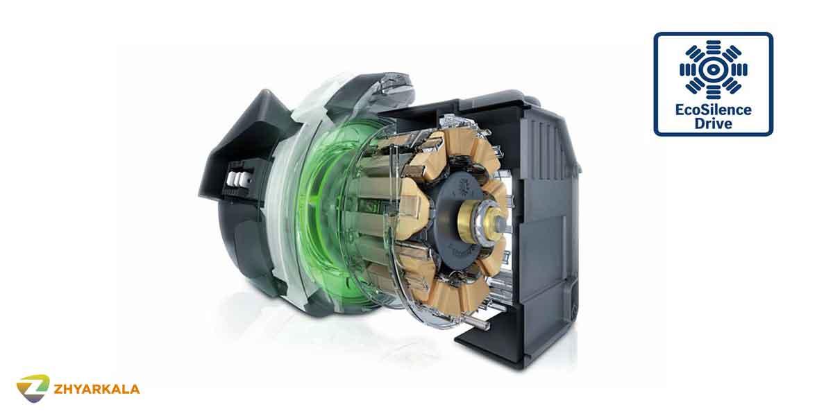 موتور قدرتمند با صدایی کم در ظرفشویی بوش مدل SMS46