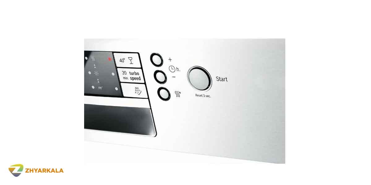 برنامه شست و شو ملایم 40 درجه در ظرفشویی بوش مدل SMS46