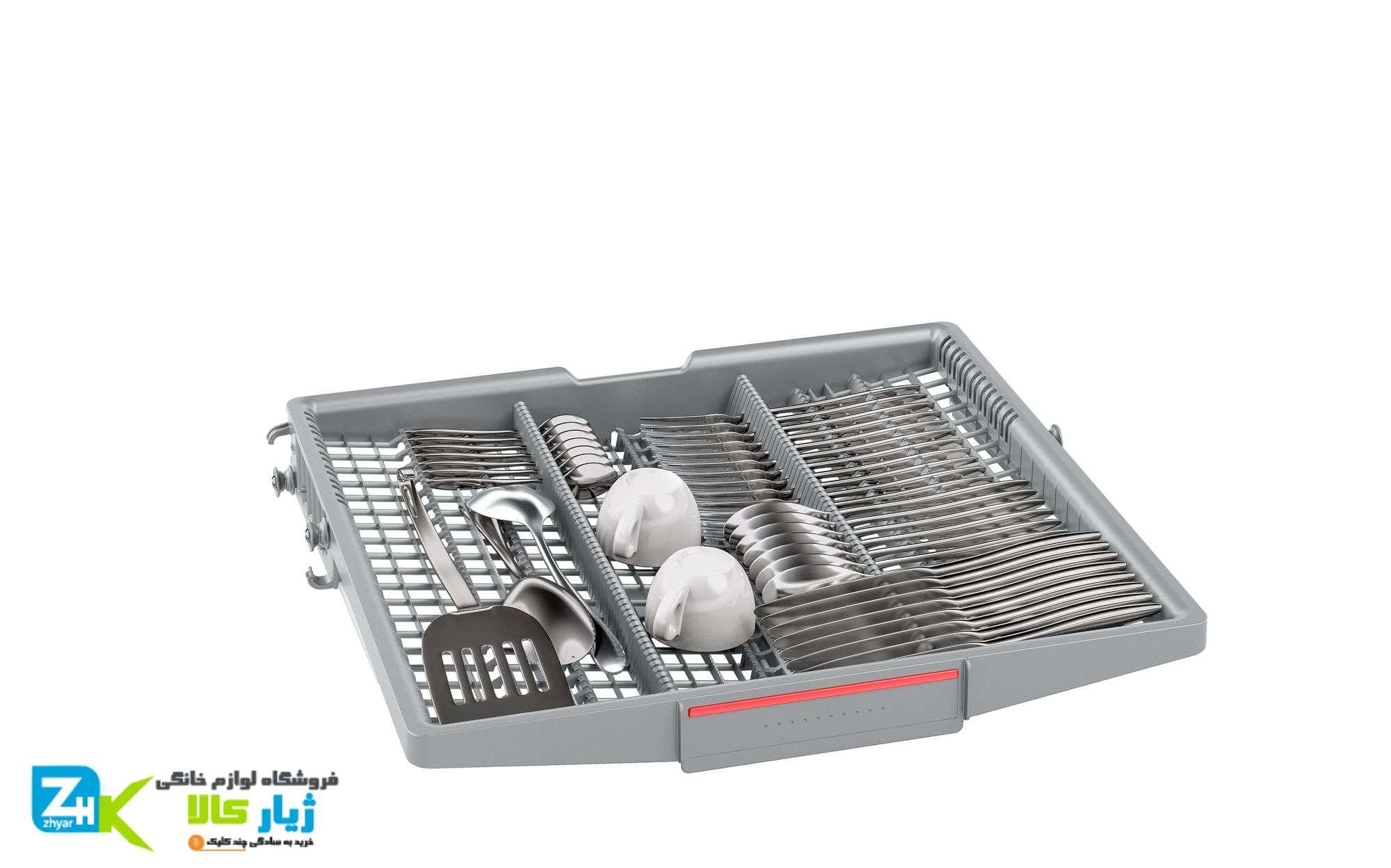 سبدهای متغیر در ماشین ظرفشویی بوش 14 نفره مدل SMS46MW10D
