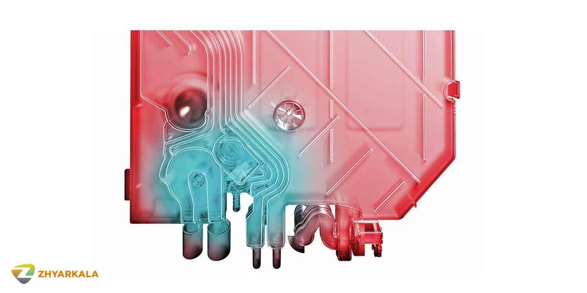 مبدل حرارتی ماشین ظرفشویی بوش SMS46NI03E