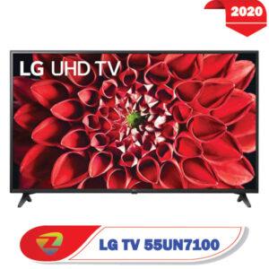 تلویزیون UN7100 ال جی از رو به رو