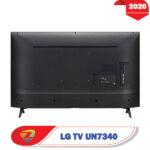 بررسی تلویزیون 49 اینچ ال جی UN7340 درگاهخای ورودی