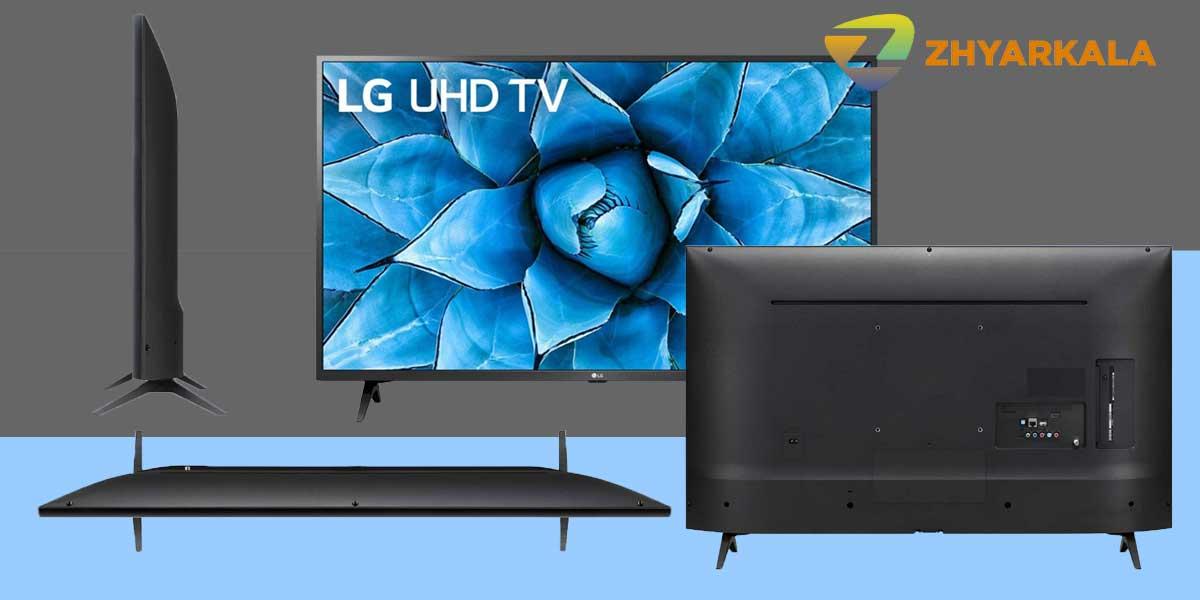 طراحی زیبا و منحصر به فرد تلویزیون الجی مدل UN7340