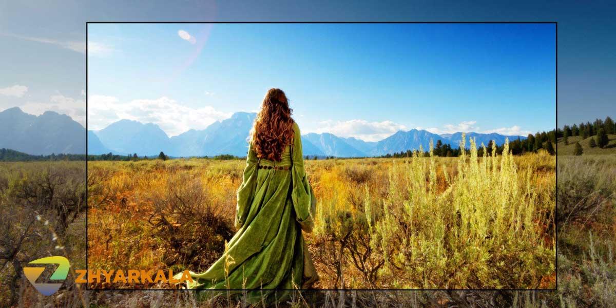 تصاویر با کیفیت 4K تلویزیون ال جی UN7340