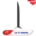 تلویزیون 55 اینچ ال جی UN8060 از بغل