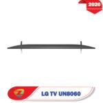 تلویزیون 55 اینچ ال جی UN8060 ضخامت محصول
