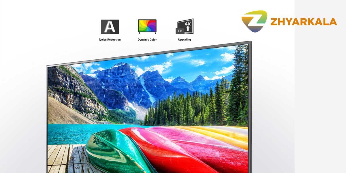 تلویزیون ال جی 55un8060 دارای فناوری 4K Active HDR