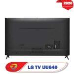 پشت تلویزیون ال جی uu640