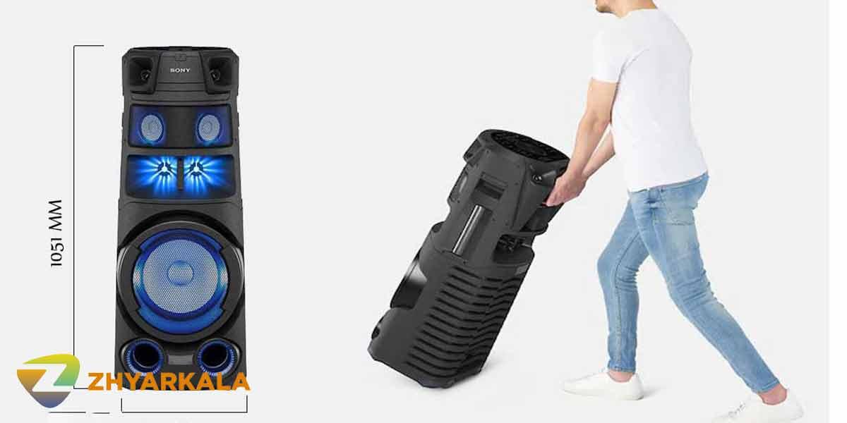 معرفی سیستم صوتی سونی V8