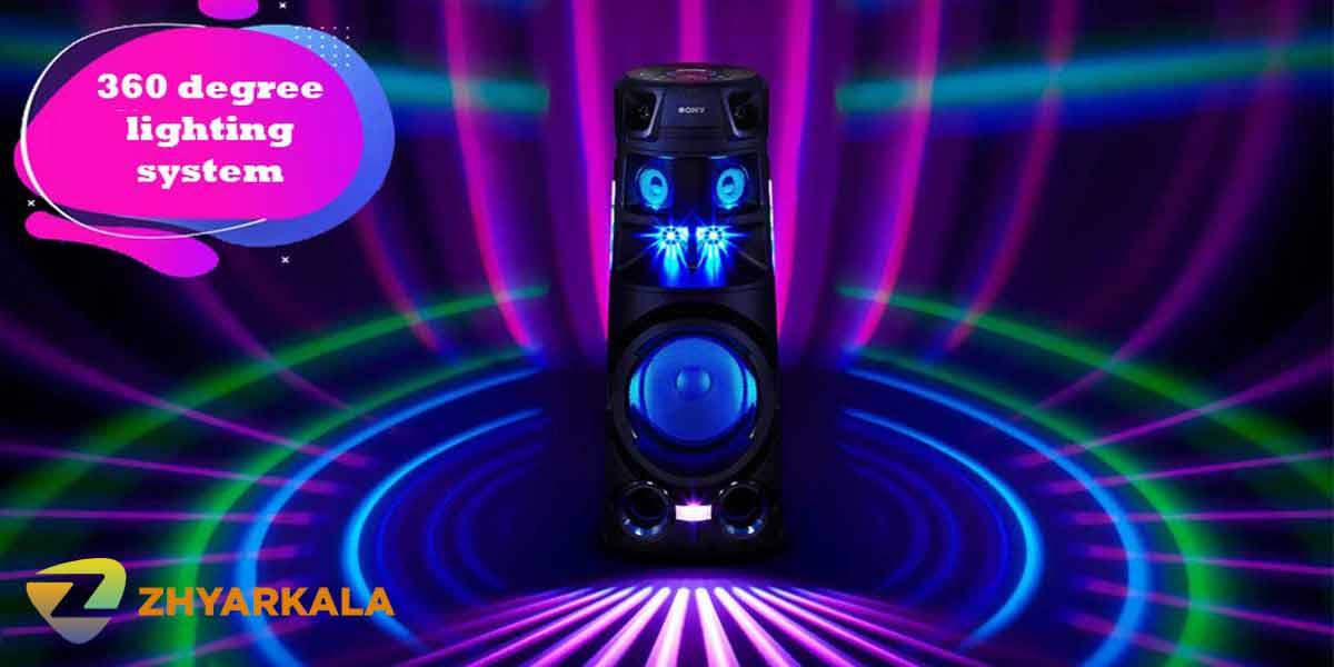 نورپردازی سیستم صوتی V83