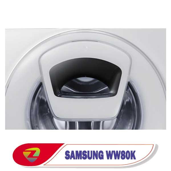 ماشین لباسشویی ادواش سامسونگ WW80K ظرفیت 8 کیلو WW80K5213WW