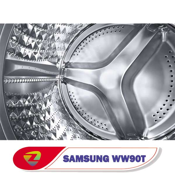 ماشین لباسشویی سامسونگ WW90T ظرفیت 9 کیلو WW90T554DAN