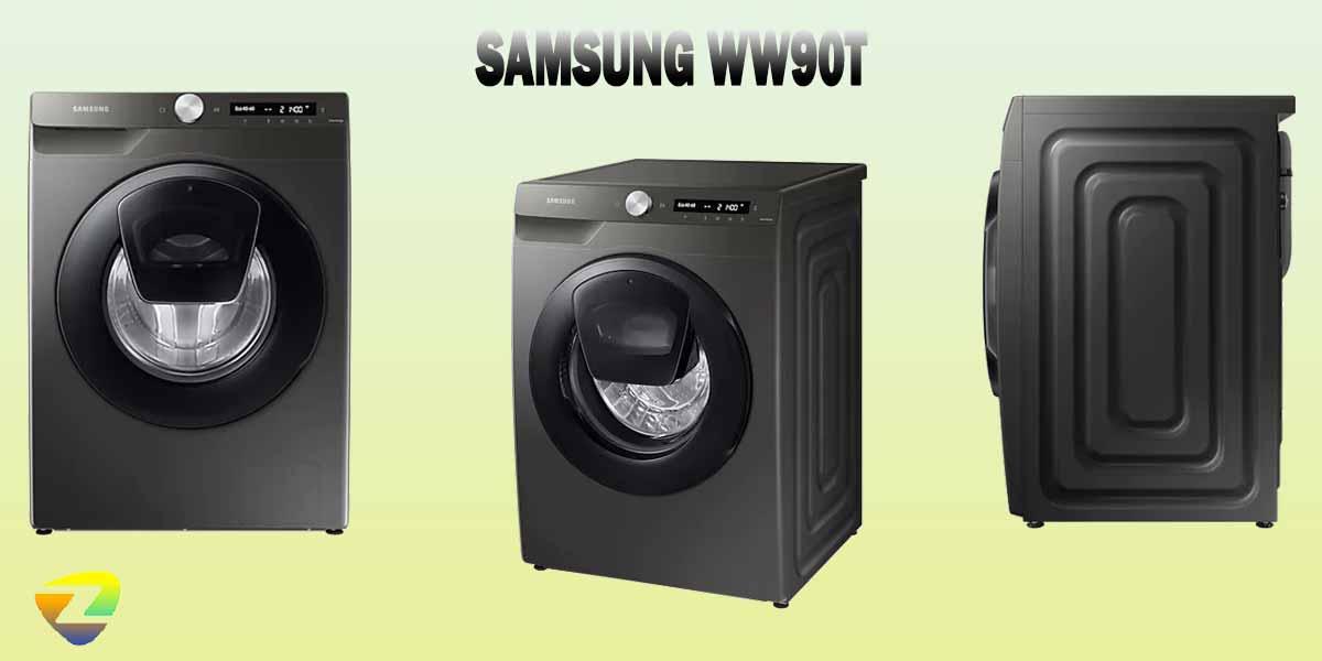 طراحی ماشین لباسشویی سامسونگ WW90T