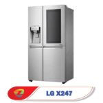 طراحی یخچال ساید اینستاویو ال جی X247