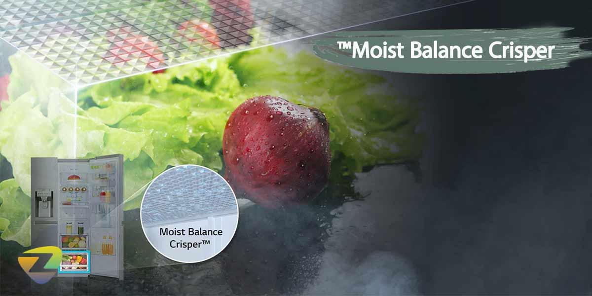 تضمین تازگی مواد با کشو Moist Balance