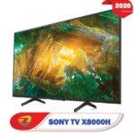 تلویزیون 49X8000H سونی از رو به رو