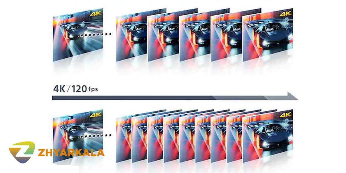 تکنولوژی X-Motion Clarity تلویزیون سونی X9000H