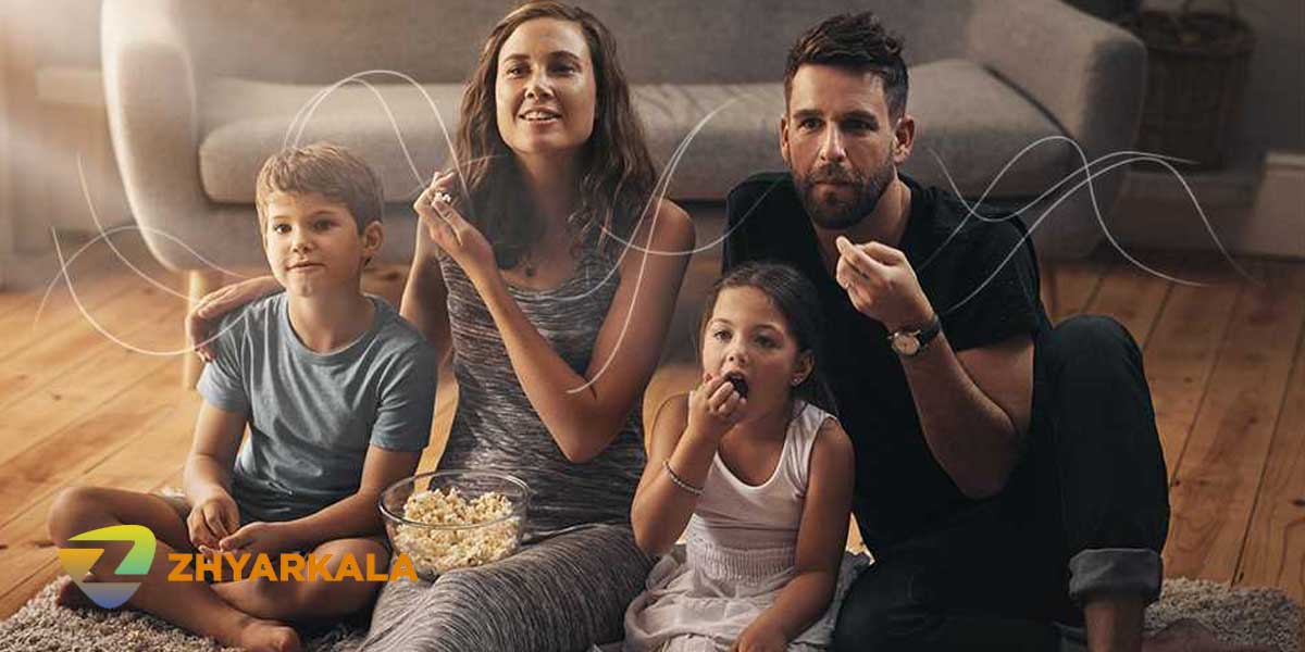بلندگوهای X-balanced و صدایی با کیفیت تلویزیون سونی X9000H