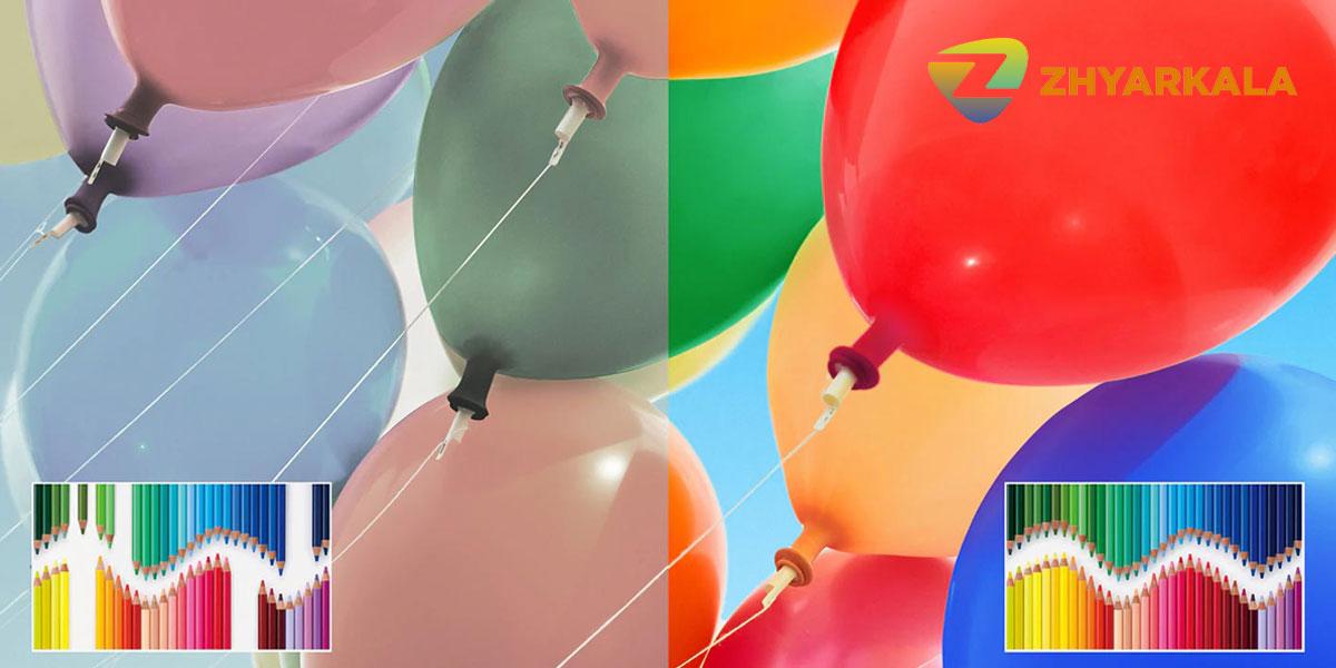 رنگ های غنی تلویزیون سونی 49X9500H