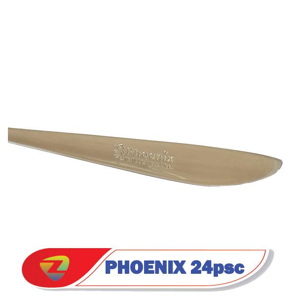 سرویس قاشق چنگال 24 نفره فونیکس PHOENIX