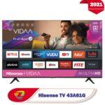 تلویزیون 43 اینچ هایسنس A61G