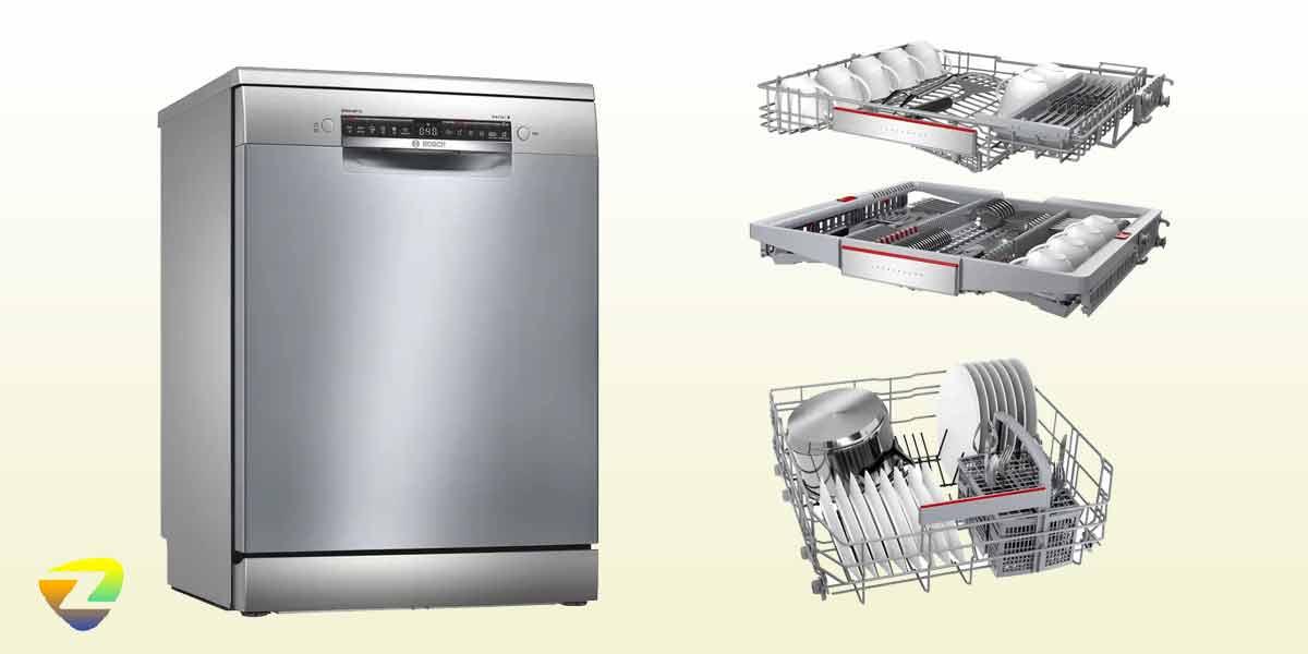 طراحی ماشین ظرفشویی بوش 4HBI56E