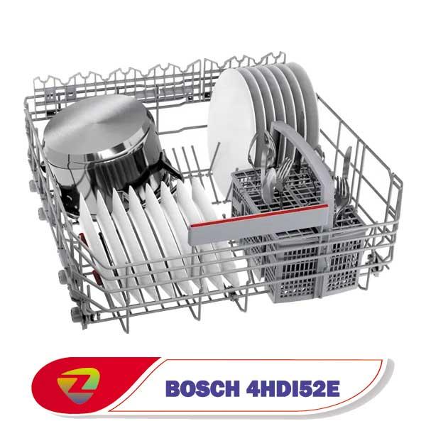 ماشین ظرفشویی بوش 4HDI52E سری 4 ظرفیت 13 نفره SMS4HDI52E