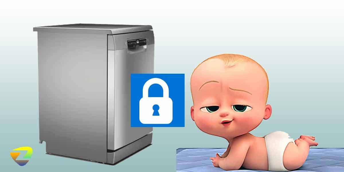 قفل کودک در ماشین ظرفشویی بوش 4HDI52E