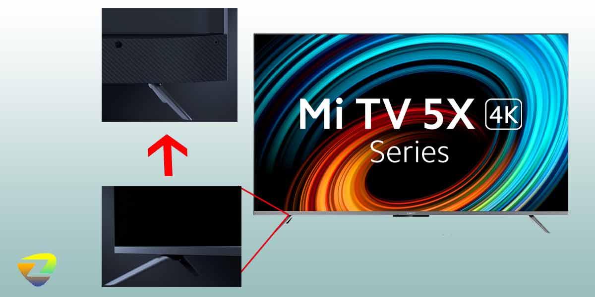 طراحی تلویزیون شیائومی 5X