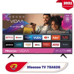 تلویزیون 75 اینچ هایسنس A62G