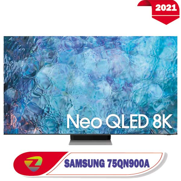 تلویزیون سامسونگ 75QN900A مدل 2021 سایز 75 اینچ QN900A