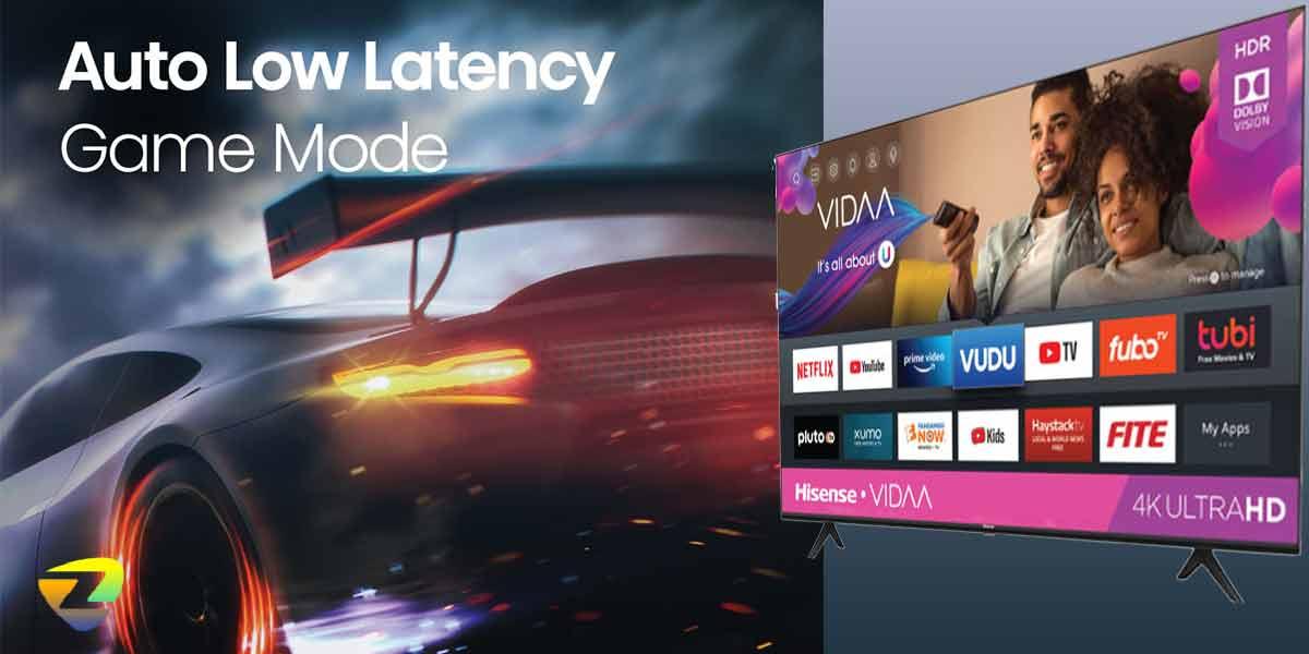 امکانات بازی در تلویزیون هایسنس A62G
