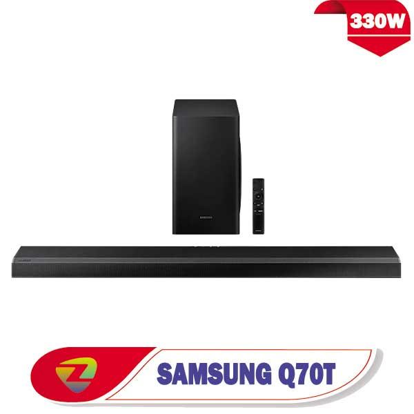 ساندبار سامسونگ Q70T سیستم صوتی Q70T توان 330 وات