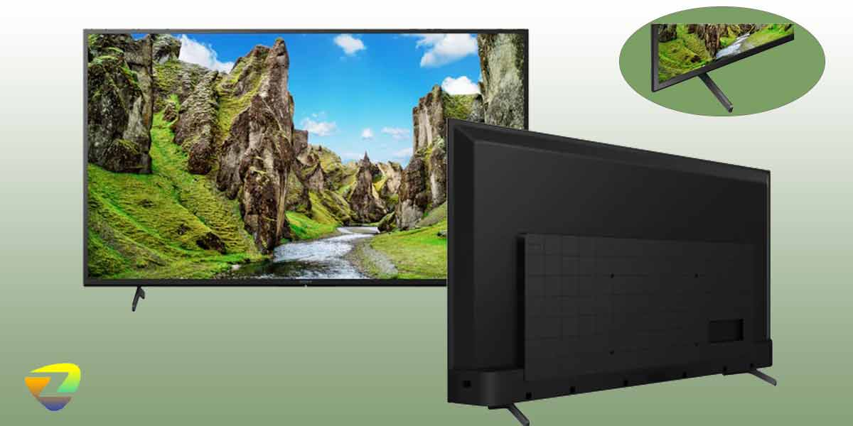 طراحی تلویزیون سونی X75A