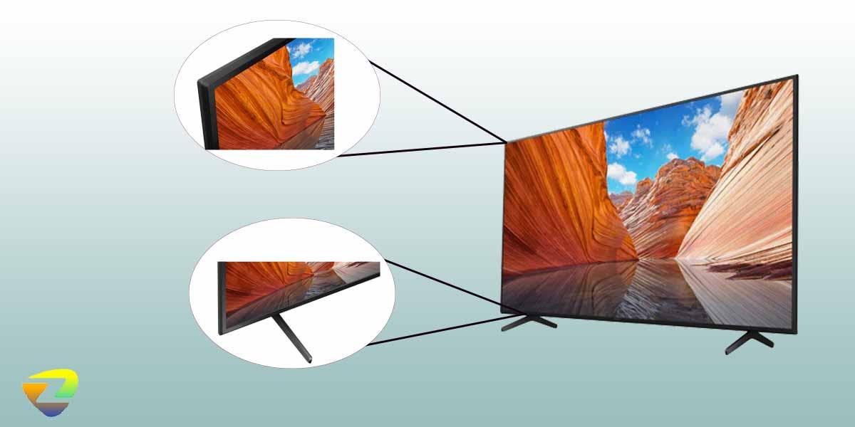 طراحی تلویزیون سونی X80AJ