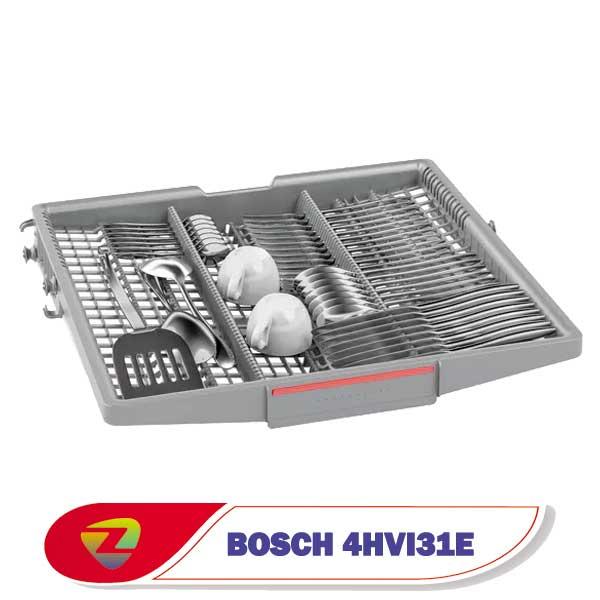 ماشین ظرفشویی بوش 4HVI31E سری 4 ظرفیت 13 نفره SMS4HVI31E